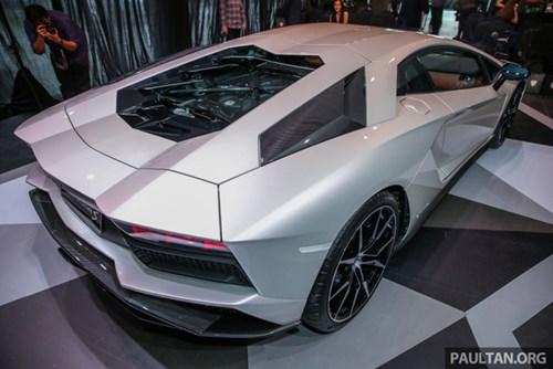 Cận cảnh Lamborghini Aventador S giá 9,22 tỷ Đồng chưa thuế tại Đông Nam Á - Ảnh 7.