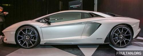 Cận cảnh Lamborghini Aventador S giá 9,22 tỷ Đồng chưa thuế tại Đông Nam Á - Ảnh 8.