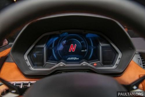 Cận cảnh Lamborghini Aventador S giá 9,22 tỷ Đồng chưa thuế tại Đông Nam Á - Ảnh 10.
