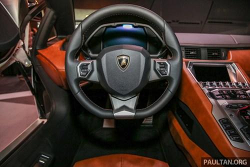 Cận cảnh Lamborghini Aventador S giá 9,22 tỷ Đồng chưa thuế tại Đông Nam Á - Ảnh 11.