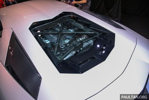Cận cảnh Lamborghini Aventador S giá 9,22 tỷ Đồng chưa thuế tại Đông Nam Á - Ảnh 13.