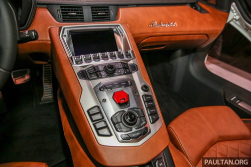Cận cảnh Lamborghini Aventador S giá 9,22 tỷ Đồng chưa thuế tại Đông Nam Á - Ảnh 14.