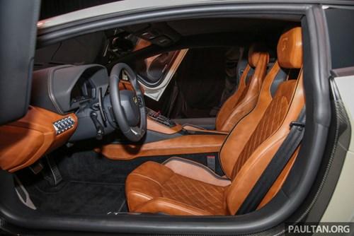 Cận cảnh Lamborghini Aventador S giá 9,22 tỷ Đồng chưa thuế tại Đông Nam Á - Ảnh 15.
