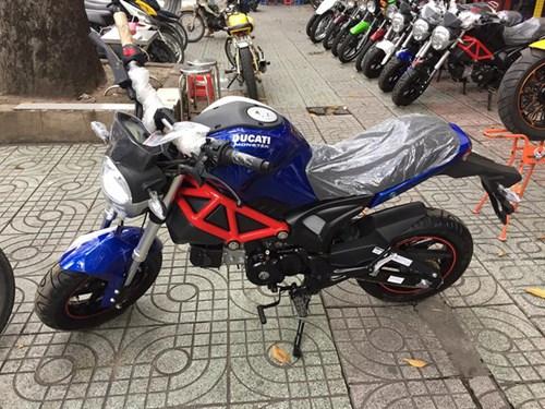 Xôn xao với Ducati Monster 110 giá 38 triệu Đồng tại Việt Nam - Ảnh 2.