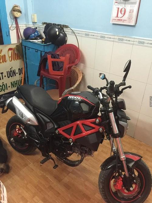 Xôn xao với Ducati Monster 110 giá 38 triệu Đồng tại Việt Nam - Ảnh 6.