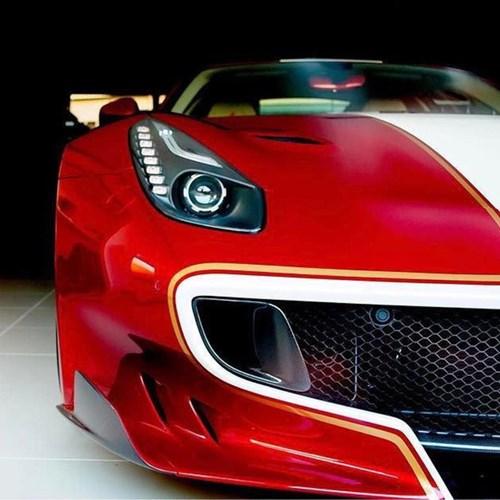 Ông chủ hãng Pagani nhận siêu xe Ferrari F12tdf hàng thửa - Ảnh 3.