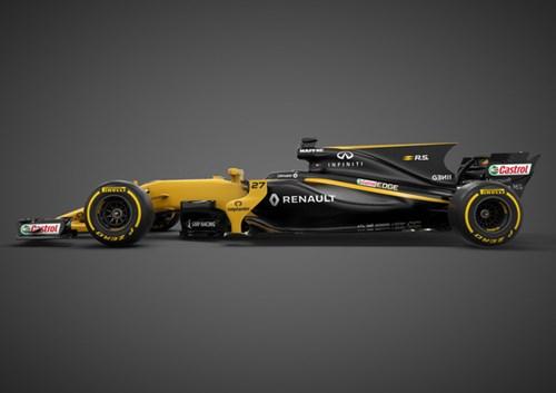 Renault ra mắt xe đua F1 mới cho mùa giải 2017 - Ảnh 1.