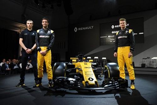 Renault ra mắt xe đua F1 mới cho mùa giải 2017 - Ảnh 3.