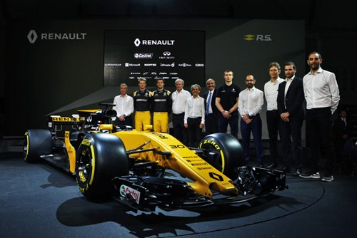 Renault ra mắt xe đua F1 mới cho mùa giải 2017 - Ảnh 12.