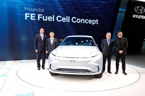Đây là hình ảnh xem trước cho mẫu SUV xanh tương lai của Hyundai - Ảnh 1.