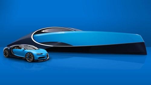 Sau Lexus, hãng siêu xe Bugatti cũng sản xuất du thuyền thể thao - Ảnh 2.