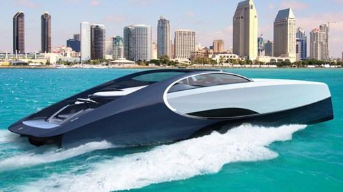 Sau Lexus, hãng siêu xe Bugatti cũng sản xuất du thuyền thể thao - Ảnh 1.