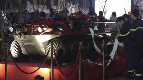 Khám phá xe cứu hoả lưỡng cư của Nhật Bản vừa trao tặng Hà Nội - Ảnh 4.