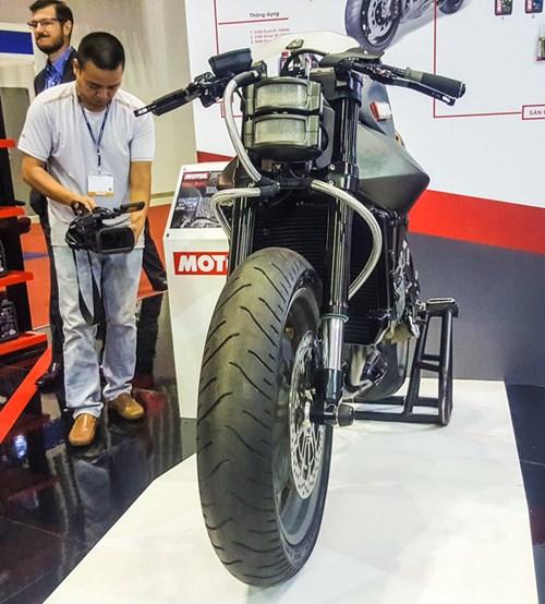 Siêu mô tô độ hàng thửa Motul Onirika 2853 lần đầu xuất hiện tại Việt Nam - Ảnh 1.