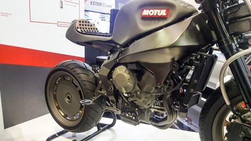 Siêu mô tô độ hàng thửa Motul Onirika 2853 lần đầu xuất hiện tại Việt Nam - Ảnh 4.