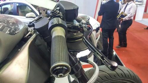 Siêu mô tô độ hàng thửa Motul Onirika 2853 lần đầu xuất hiện tại Việt Nam - Ảnh 9.