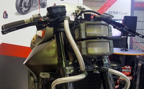 Siêu mô tô độ hàng thửa Motul Onirika 2853 lần đầu xuất hiện tại Việt Nam - Ảnh 8.
