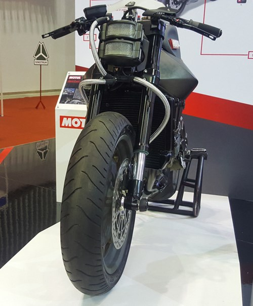 Siêu mô tô độ hàng thửa Motul Onirika 2853 lần đầu xuất hiện tại Việt Nam - Ảnh 7.