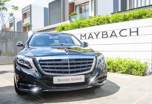 Cận cảnh xe siêu sang Mercedes-Maybach S500 giá 11 tỷ Đồng tại Việt Nam - Ảnh 1.