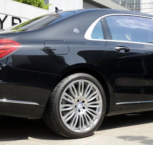 Cận cảnh xe siêu sang Mercedes-Maybach S500 giá 11 tỷ Đồng tại Việt Nam - Ảnh 5.