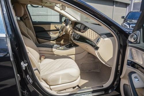 Cận cảnh xe siêu sang Mercedes-Maybach S500 giá 11 tỷ Đồng tại Việt Nam - Ảnh 10.