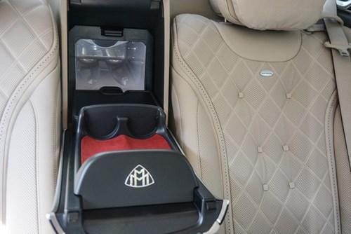 Cận cảnh xe siêu sang Mercedes-Maybach S500 giá 11 tỷ Đồng tại Việt Nam - Ảnh 8.