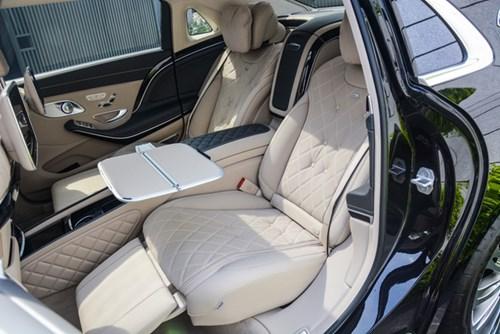 Cận cảnh xe siêu sang Mercedes-Maybach S500 giá 11 tỷ Đồng tại Việt Nam - Ảnh 7.