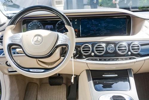 Cận cảnh xe siêu sang Mercedes-Maybach S500 giá 11 tỷ Đồng tại Việt Nam - Ảnh 11.
