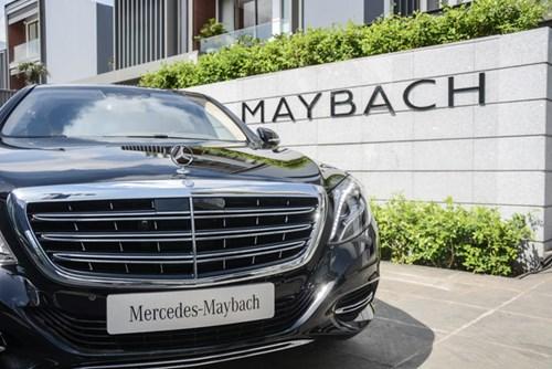 Cận cảnh xe siêu sang Mercedes-Maybach S500 giá 11 tỷ Đồng tại Việt Nam - Ảnh 4.