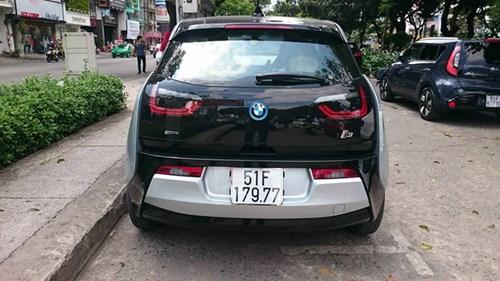 Xe điện BMW i3 của ông chủ Mai Linh tái xuất tại Sài thành - Ảnh 5.