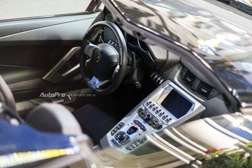 Bắt gặp Lamborghini Aventador Roadster màu cánh gián đi chơi cuối tuần - Ảnh 7.