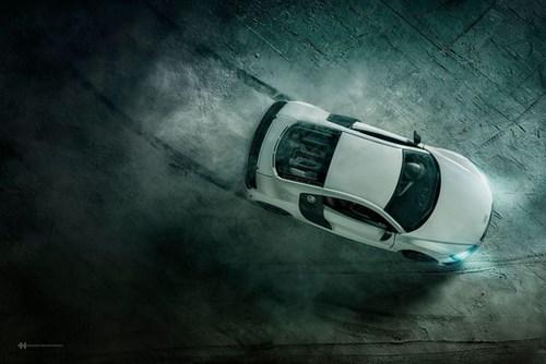 Audi đặt làm quảng cáo xe sang giá 160.000 đô, anh chàng này chỉ dùng 40 đô, thêm tài Photoshop mà làm sản phẩm đẹp không tin được - Ảnh 10.