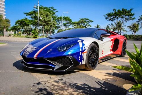 Cận cảnh bộ áo mới trên Lamborghini Aventador SV 32 tỷ Đồng của Minh Nhựa - Ảnh 3.