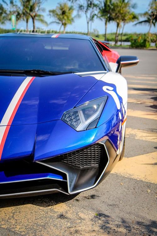 Cận cảnh bộ áo mới trên Lamborghini Aventador SV 32 tỷ Đồng của Minh Nhựa - Ảnh 11.