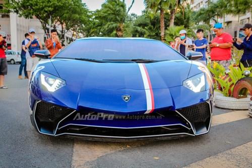Cận cảnh bộ áo mới trên Lamborghini Aventador SV 32 tỷ Đồng của Minh Nhựa - Ảnh 1.