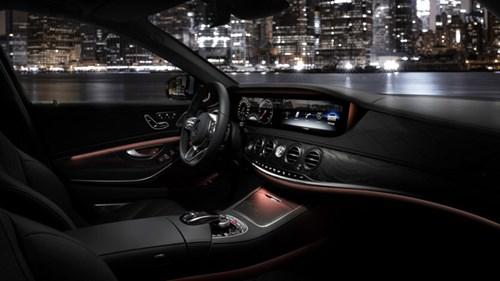 Hình ảnh chính thức đầu tiên của xe hot Mercedes-Benz S-Class 2018 - Ảnh 2.
