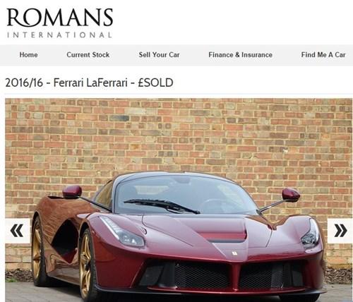 Siêu phẩm Ferrari LaFerrari màu hiếm rao bán 77 tỷ Đồng đã tìm thấy chủ nhân - Ảnh 2.