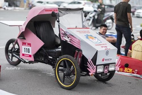 Ngắm nhìn dàn xe tự chế của Việt Nam thi đấu tiết kiệm nhiên liệu - Ảnh 3.