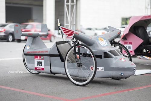 Ngắm nhìn dàn xe tự chế của Việt Nam thi đấu tiết kiệm nhiên liệu - Ảnh 4.