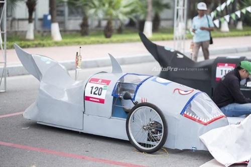 Ngắm nhìn dàn xe tự chế của Việt Nam thi đấu tiết kiệm nhiên liệu - Ảnh 5.