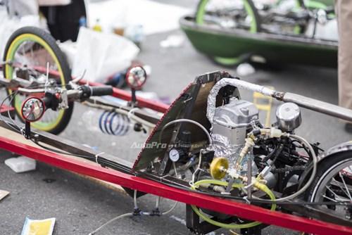 Ngắm nhìn dàn xe tự chế của Việt Nam thi đấu tiết kiệm nhiên liệu - Ảnh 2.