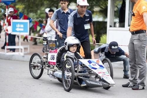 Ngắm nhìn dàn xe tự chế của Việt Nam thi đấu tiết kiệm nhiên liệu - Ảnh 7.