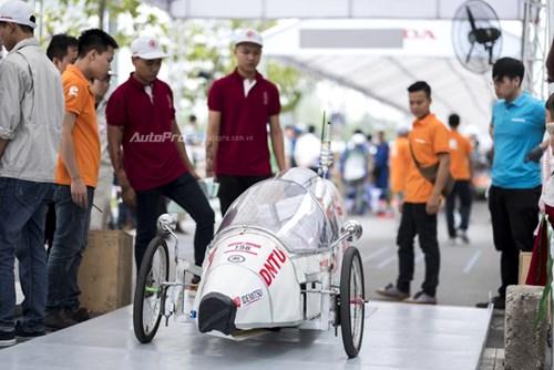 Ngắm nhìn dàn xe tự chế của Việt Nam thi đấu tiết kiệm nhiên liệu - Ảnh 8.