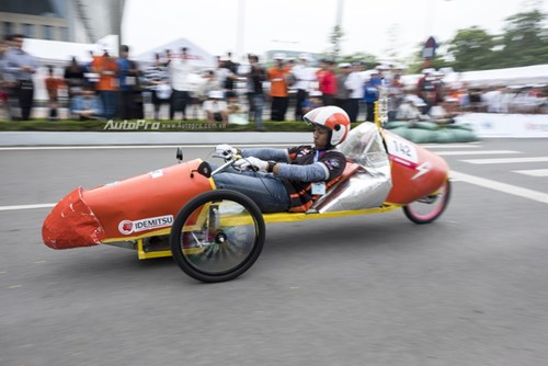 Ngắm nhìn dàn xe tự chế của Việt Nam thi đấu tiết kiệm nhiên liệu - Ảnh 13.