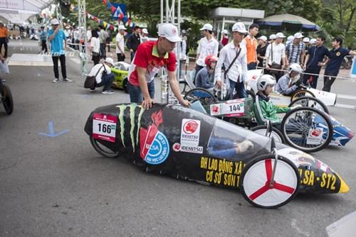 Ngắm nhìn dàn xe tự chế của Việt Nam thi đấu tiết kiệm nhiên liệu - Ảnh 1.