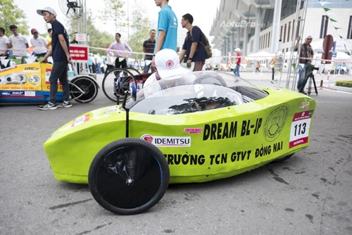 Ngắm nhìn dàn xe tự chế của Việt Nam thi đấu tiết kiệm nhiên liệu - Ảnh 6.