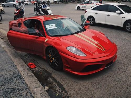 Ferrari 430 Scuderia từng thuộc sở hữu Dũng mặt sắt tiếp tục di chuyển lên Thủ Đô - Ảnh 4.