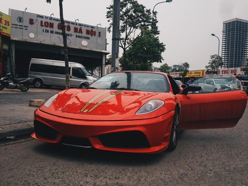 Ferrari 430 Scuderia từng thuộc sở hữu Dũng mặt sắt tiếp tục di chuyển lên Thủ Đô - Ảnh 1.