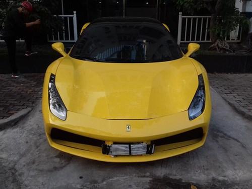 Ferrari 488 GTB của đại gia Hà Nội xuất hiện trong garage Cường Đô-la - Ảnh 3.