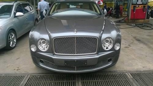 Bentley Mulsanne độ mâm khủng tại Hà thành - Ảnh 3.